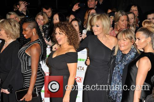 Nadia Sawalha and Linda Robson. 3