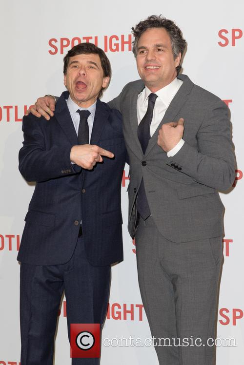 Mark Ruffalo and Mike Rezendes 7