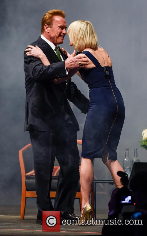 Arnold Schwarzenegger and Jenni Falconer 8