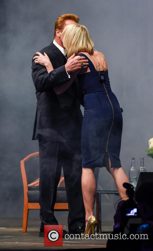Arnold Schwarzenegger and Jenni Falconer 9