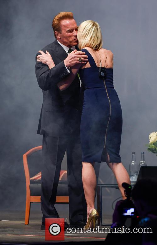 Arnold Schwarzenegger and Jenni Falconer 10