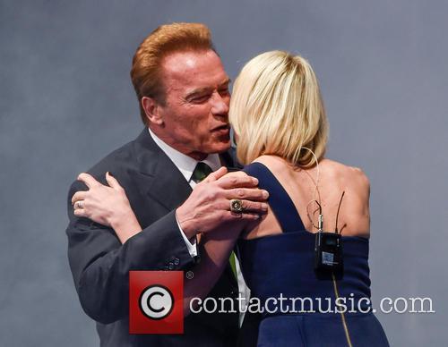 Arnold Schwarzenegger and Jenni Falconer 11