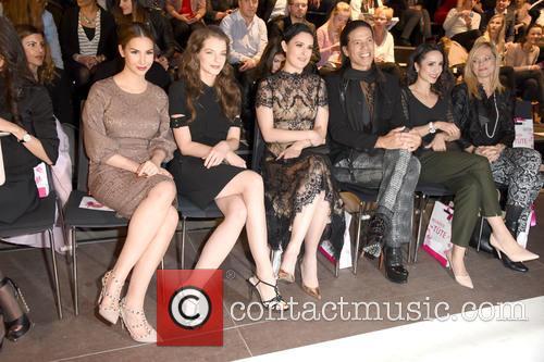 Sila Sahin, Yvonne Catterfeld, Rumer Willis, Jorge Gonzalez, Stephanie Stumph and Nina Ruge