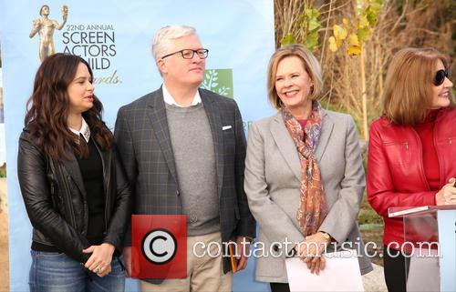 Katie Lowes, Scott Steen, Jobeth Williams and Kathy Connell 1