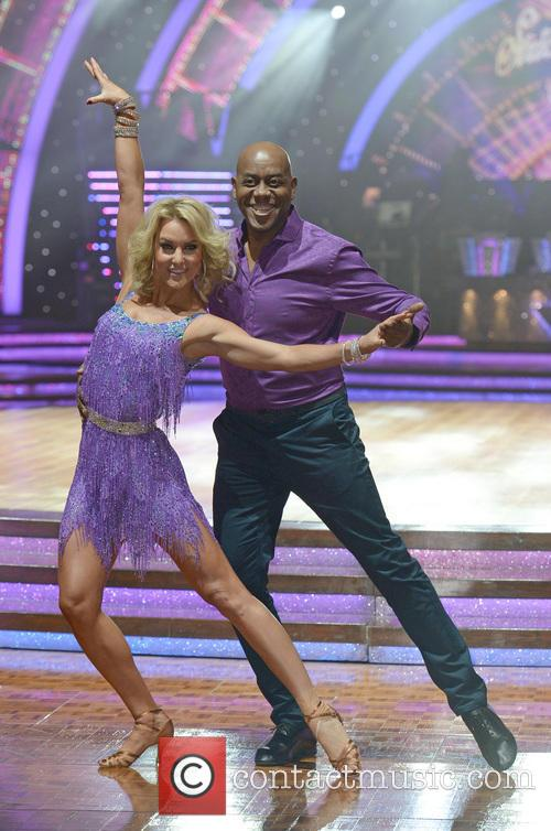 Ainsley Harriott and Natalie Lowe 2