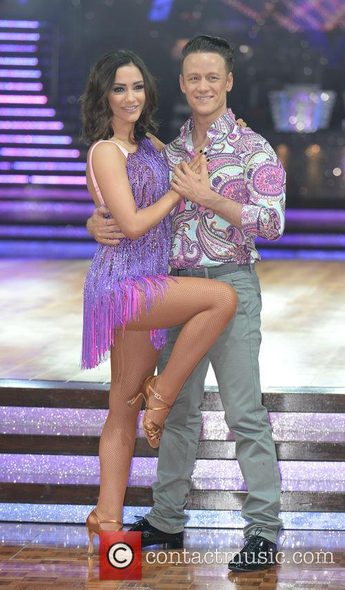 Kevin Clifton and Frankie Bridge 1
