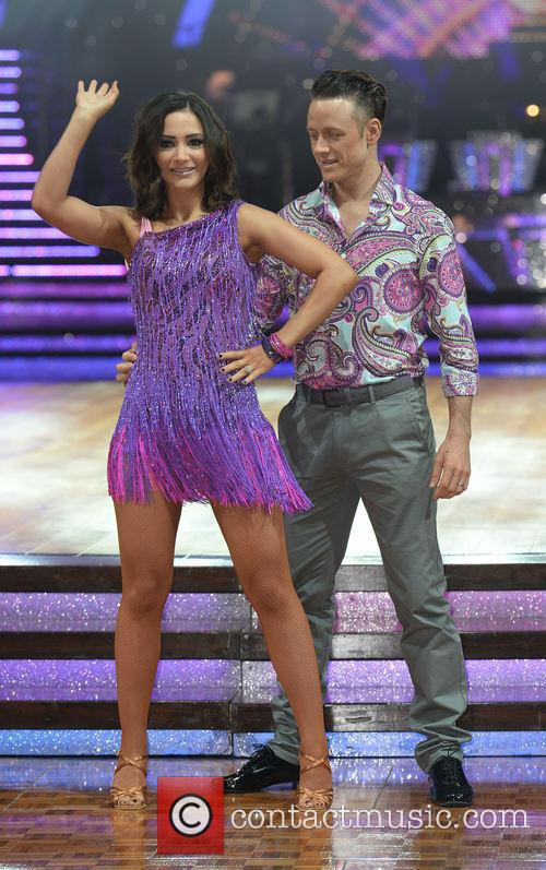 Kevin Clifton and Frankie Bridge 2