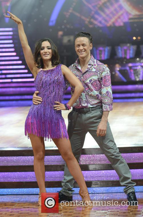 Kevin Clifton and Frankie Bridge 3