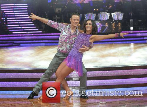 Kevin Clifton and Frankie Bridge 4