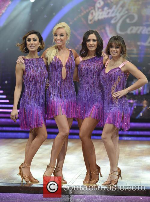 Anita Rani, Helen George, Frankie Bridge and Georgia May Foote 5