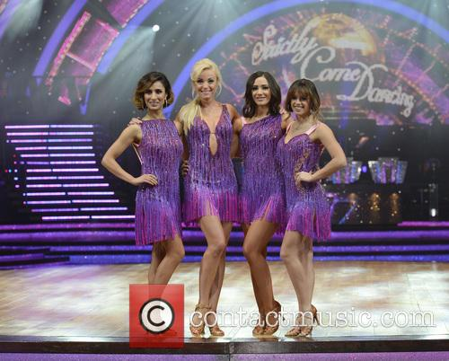 Anita Rani, Helen George, Frankie Bridge and Georgia May Foote 6