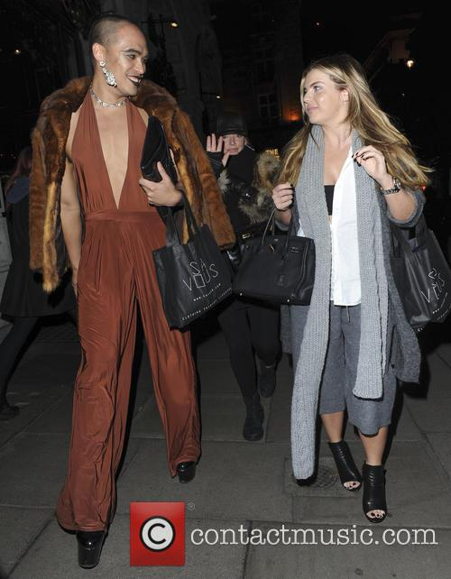 Seann Miley Moore and Louisa Johnson 7