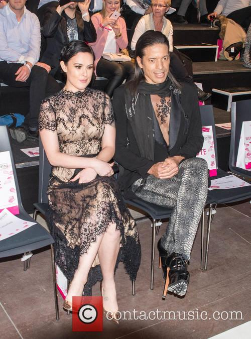 Rumer Willis and Jorge Gonzalez 7