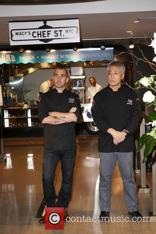 Chef Marc Forgione and Chef Takashi Yagihashi 2