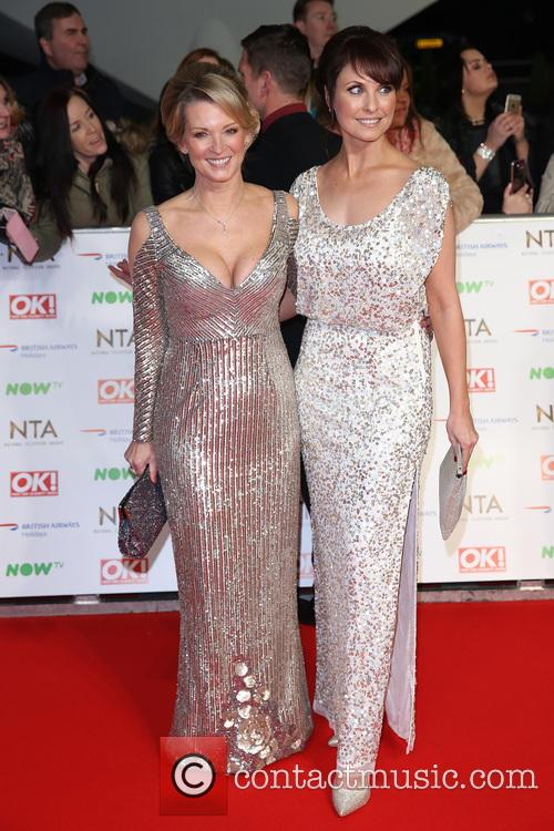Gillian Taylforth and Emma Barton 1