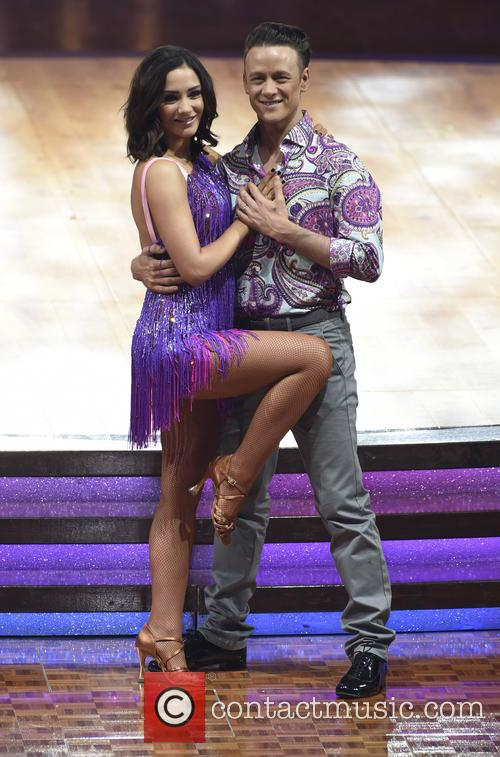 Frankie Bridge and Kevin Clifton 1