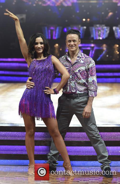 Frankie Bridge and Kevin Clifton 2