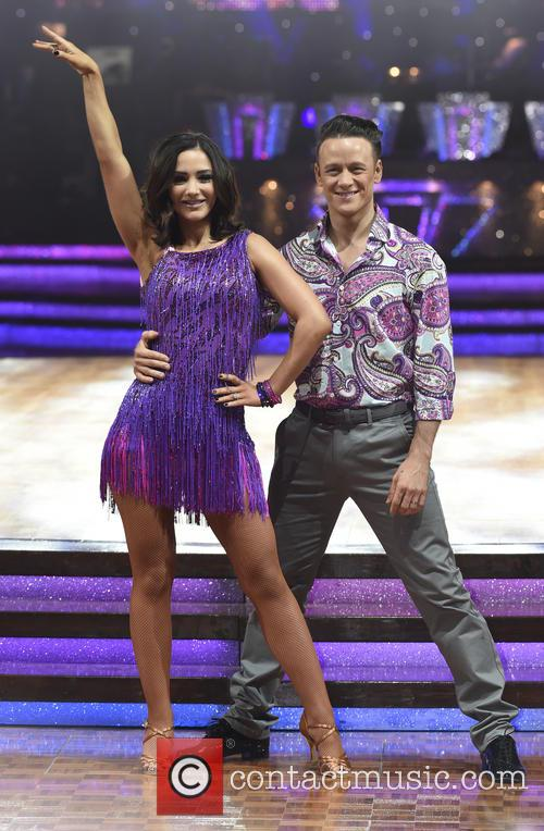 Frankie Bridge and Kevin Clifton 3
