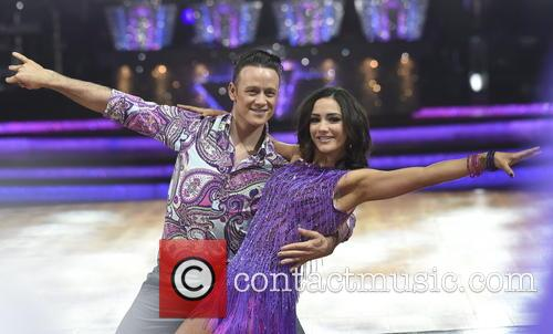 Frankie Bridge and Kevin Clifton 4