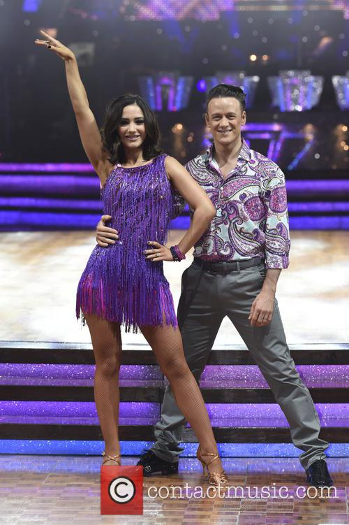 Frankie Bridge and Kevin Clifton 6