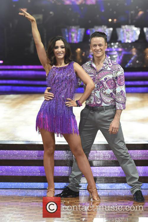 Frankie Bridge and Kevin Clifton 7
