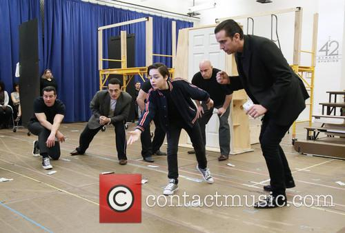 Joshua Colley, Nick Cordero and Cast 6