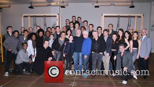 Chazz Palminteri, Sergio Trujillo, Robert De Niro, Jerry Zaks, Alan Menken, Glenn Slater and Cast 1