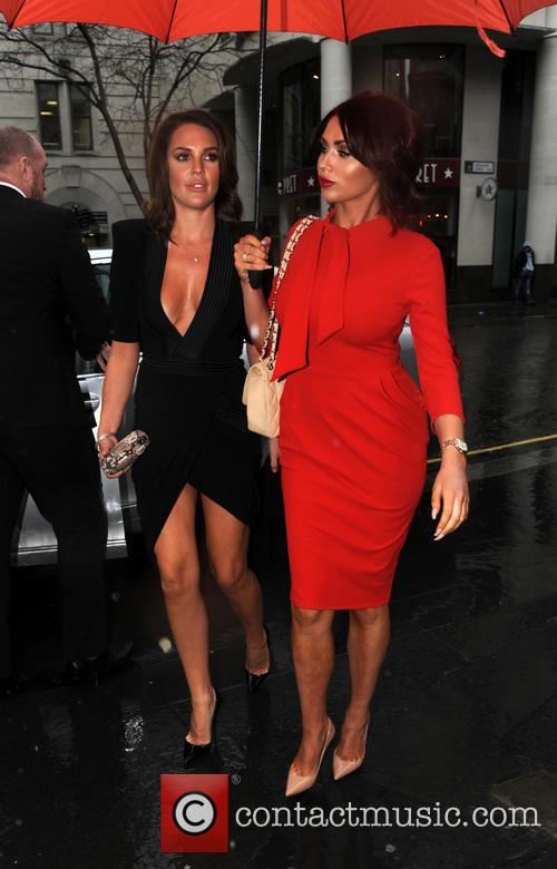 Danielle Lloyd and Amy Childs 6