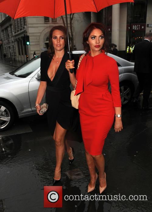 Danielle Lloyd and Amy Childs 7