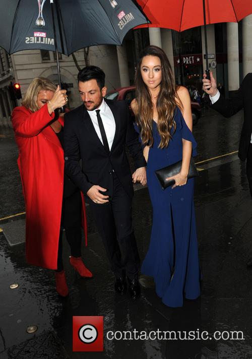 Peter Andre and Wife Emily 1