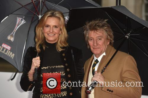 Penny Lancaster and Rod Stewart 7