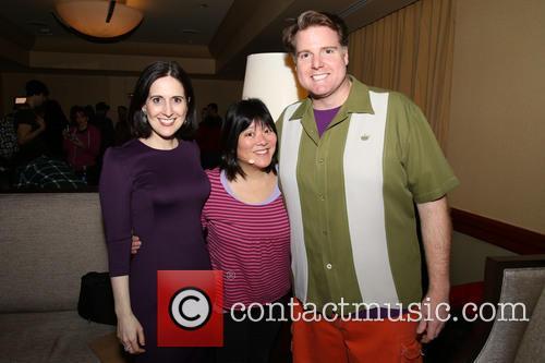 Stephanie D'abruzzo, Ann Harada and Nick Kohn 1