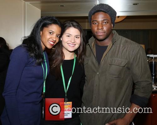 Renee Elise Goldsberry, Phillipa Soo and Okieriete Onaodowan 1