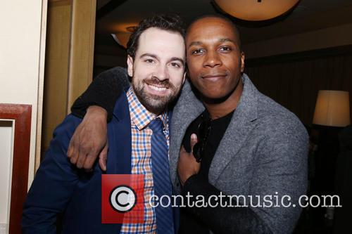 Rob Mcclure and Leslie Odom Jr. 2