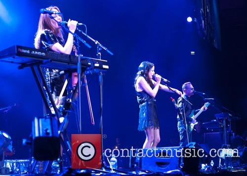 Sharon Corr, Andrea Corr and Jim Corr