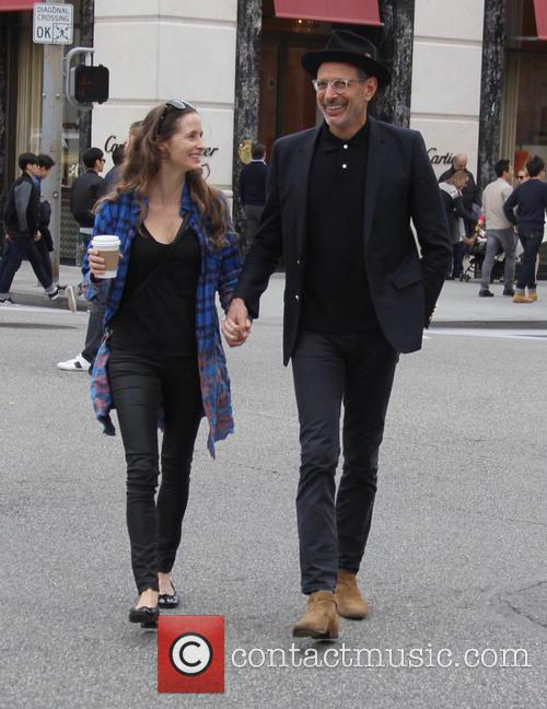 Jeff Goldblum and Emilie Livingston 4