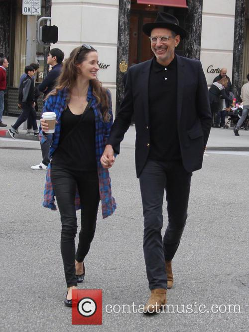 Jeff Goldblum and Emilie Livingston 5