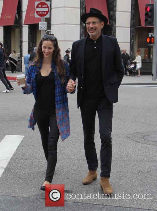 Jeff Goldblum and Emilie Livingston 6