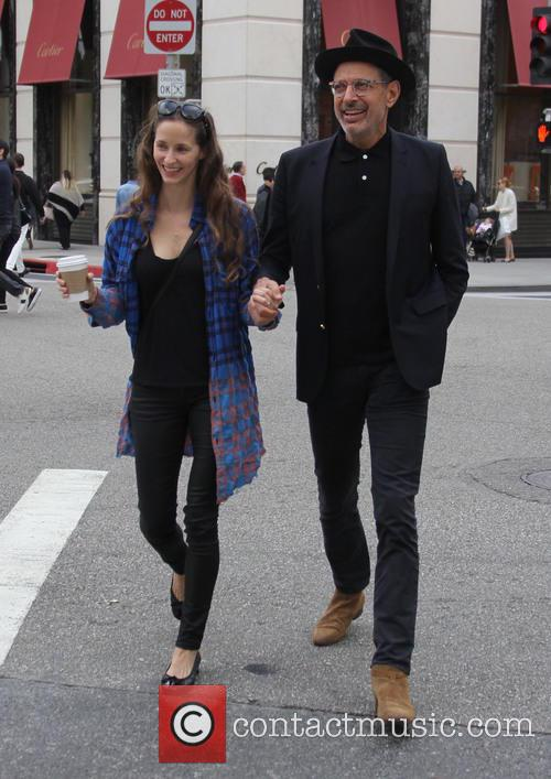 Jeff Goldblum and Emilie Livingston 7