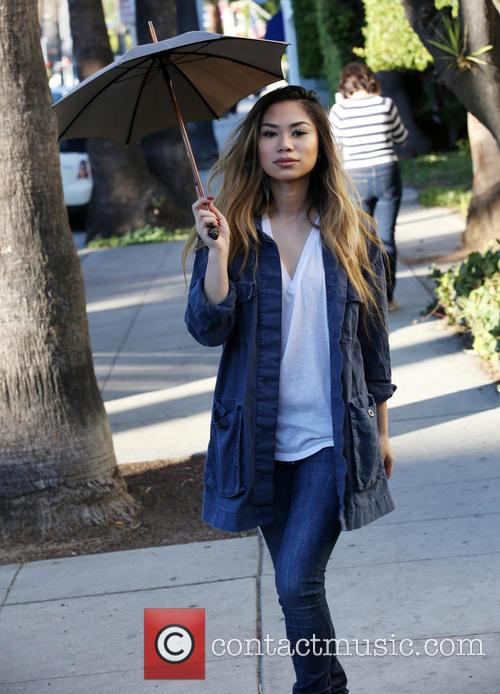 Jessica Sanchez out and about in Beverly Hills
