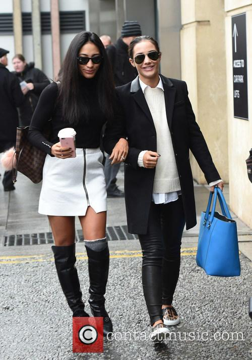 Frankie Bridge and Karen Clifton 7