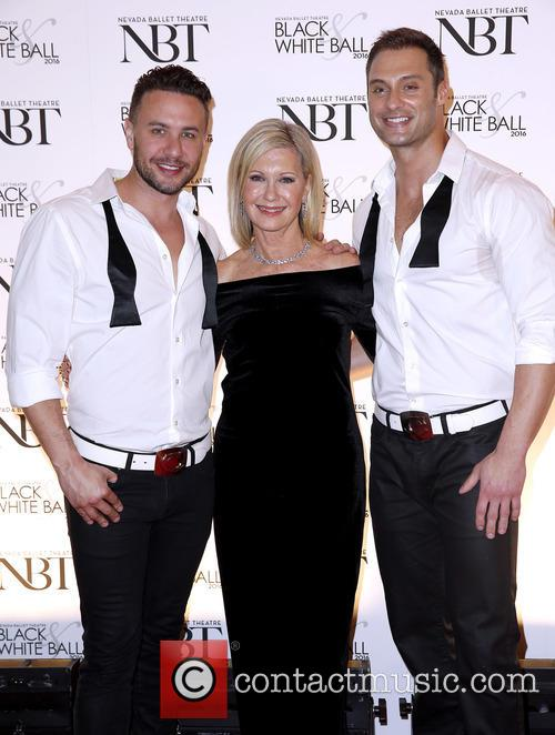 Olivia Newton John and Chippendales