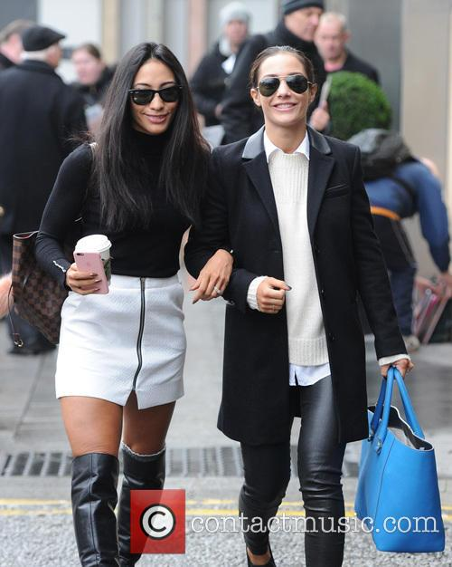 Frankie Bridge and Karen Clifton 1