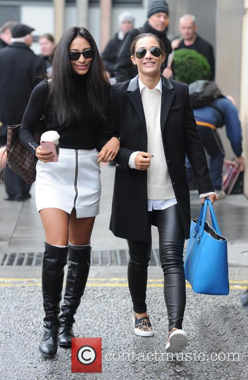 Frankie Bridge and Karen Clifton 2
