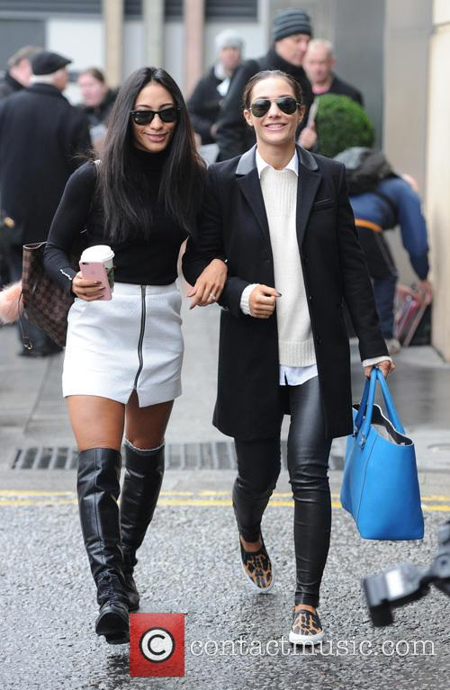 Frankie Bridge and Karen Clifton 3