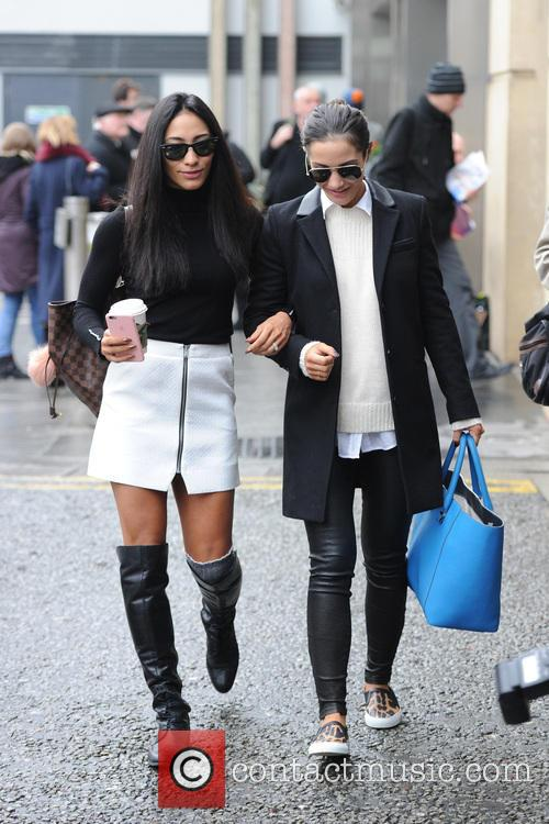 Frankie Bridge and Karen Clifton 4