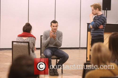 Master Class Students and Anthony Rapp 1