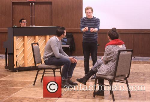 Anthony Rapp and Master Class Students 1