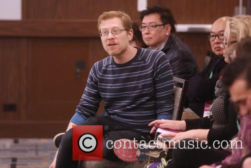 Anthony Rapp and Master Class Students 3