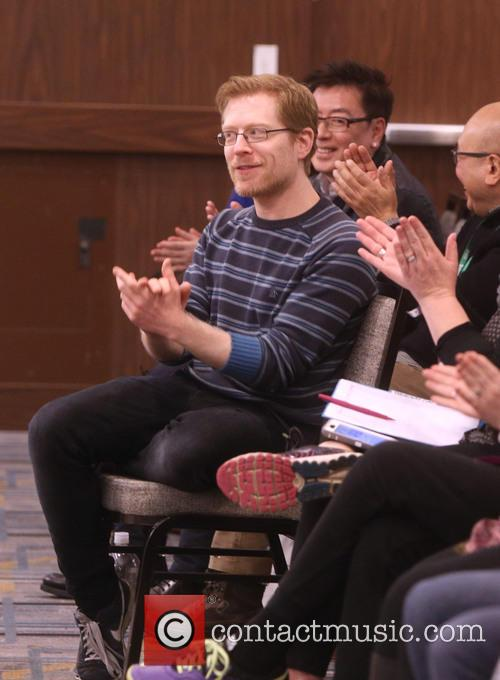 Anthony Rapp and Master Class Students 4